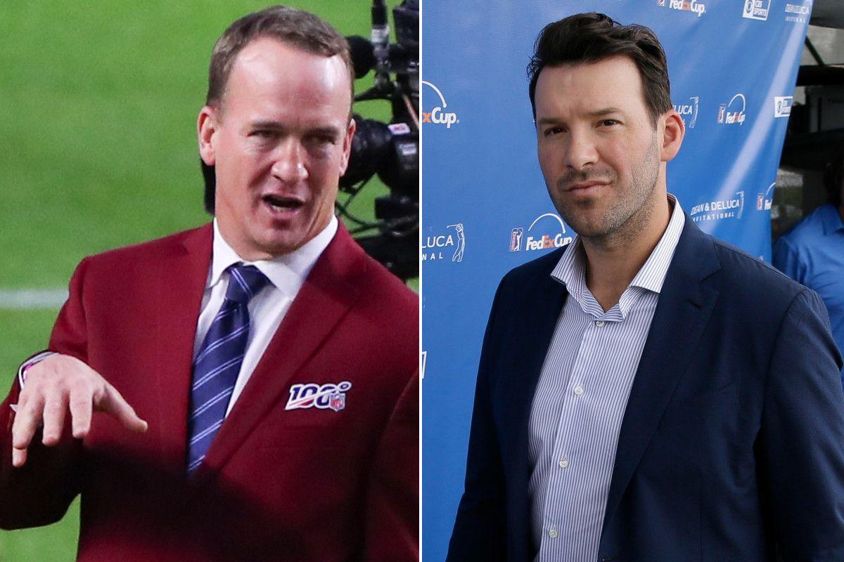 CBS tried hiring Peyton Manning before giving Tony Romo