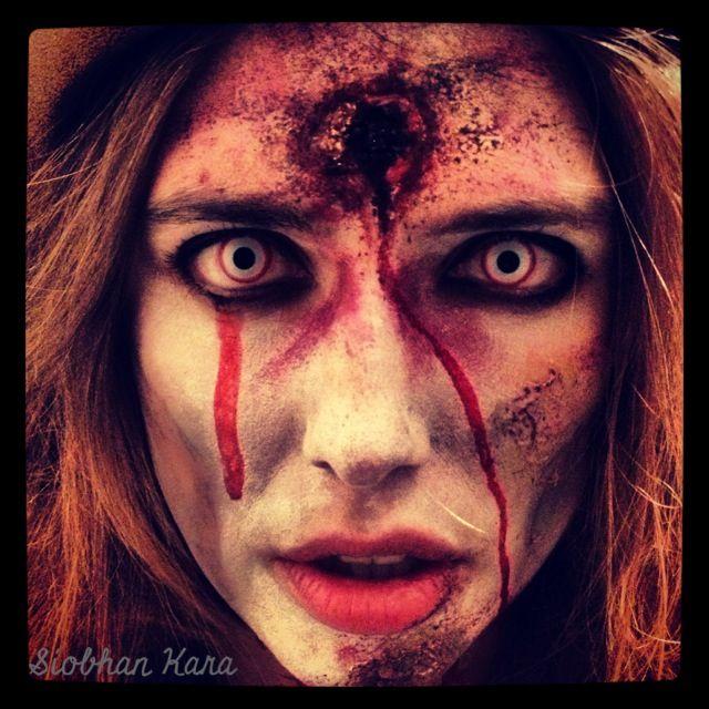 My Quick Zombie Makeup #zombie #halloween #makeup masks n mayhem - zombie halloween ideas