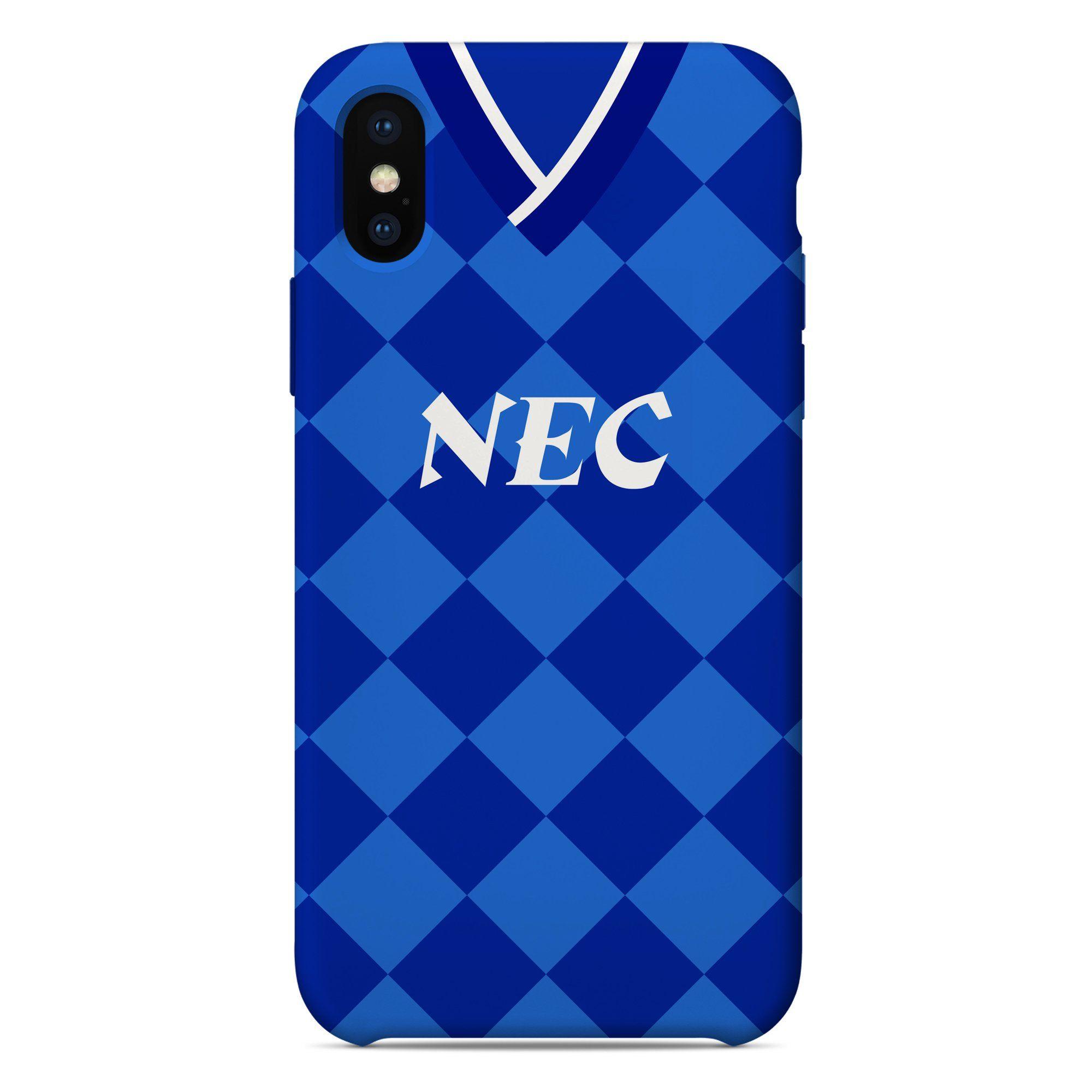 c2b745fc60b Everton 1986-1989 Home Shirt - iPhone   Samsung Galaxy Phone Case ...
