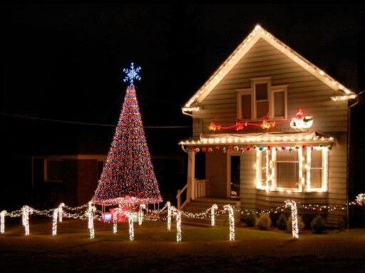 best outdoor christmas light decoration ideas for 2015 - Christmas House Decoration Ideas Outdoor