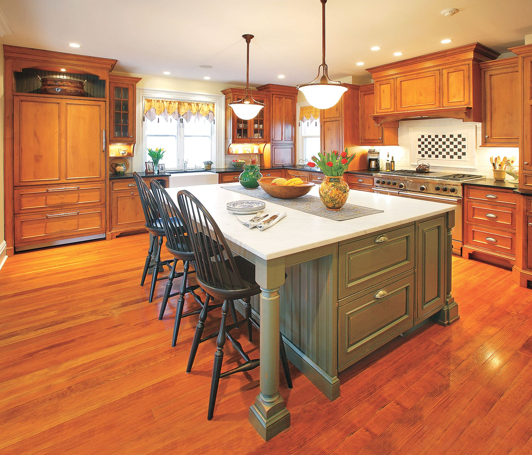 20 Small Eat In Kitchen Ideas Tips Dining Chairs: Large Kitchen Island, Kitchen