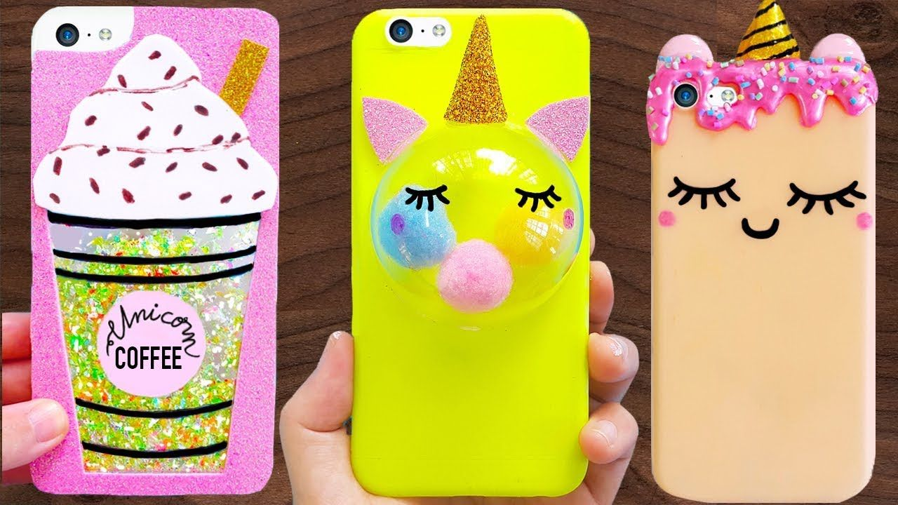 8 Diy Unicorn Phone Cases Easy Cute Phone Projects Iphone