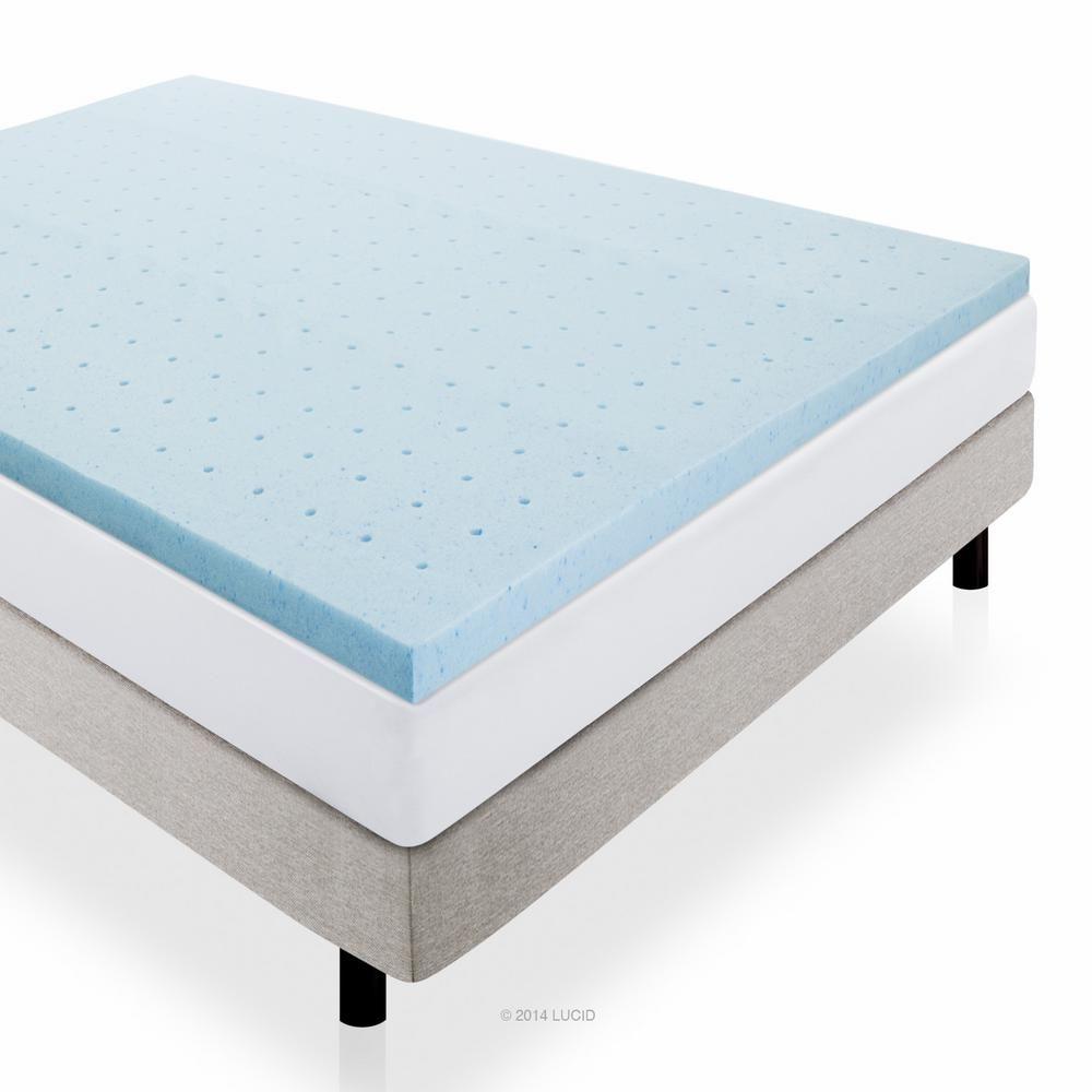 Twin XL Best Price Mattress 2.5 Gel Memory Foam Mattress Topper