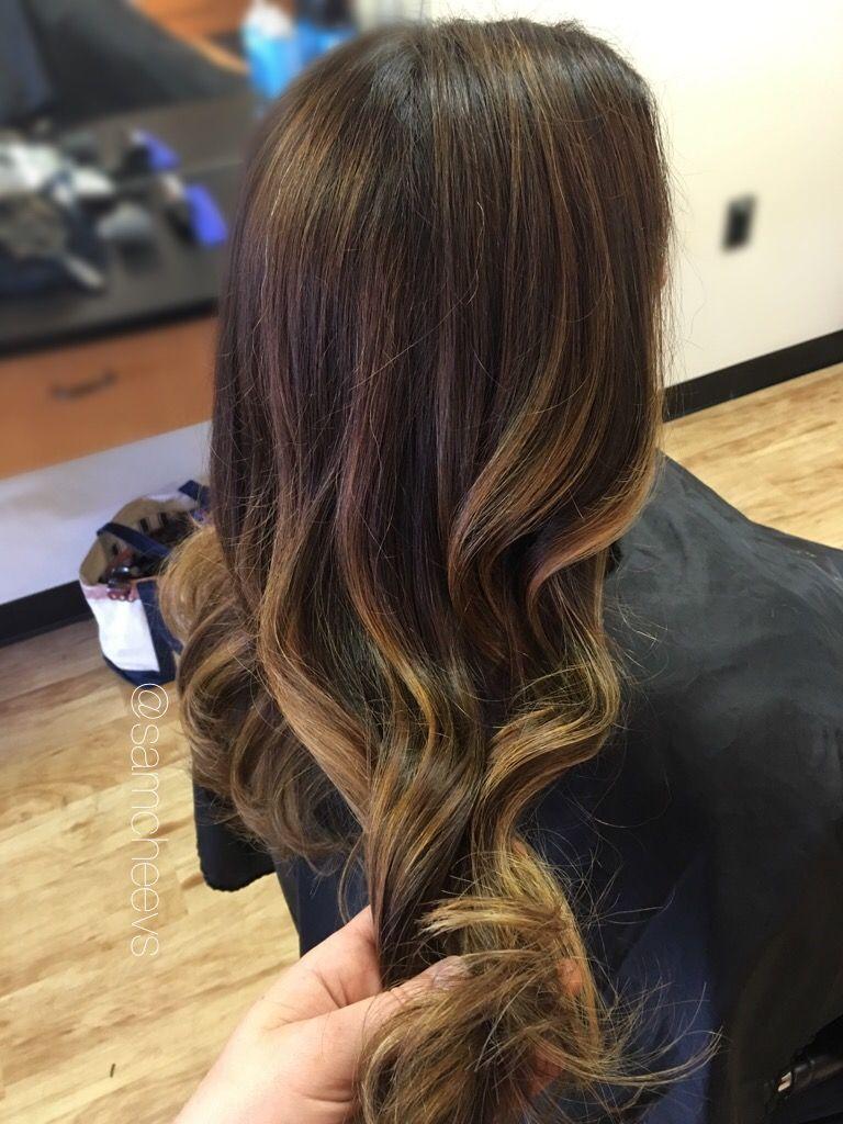 Honey Highlights For Dark Hair Warm Tones For Brown Hair Types