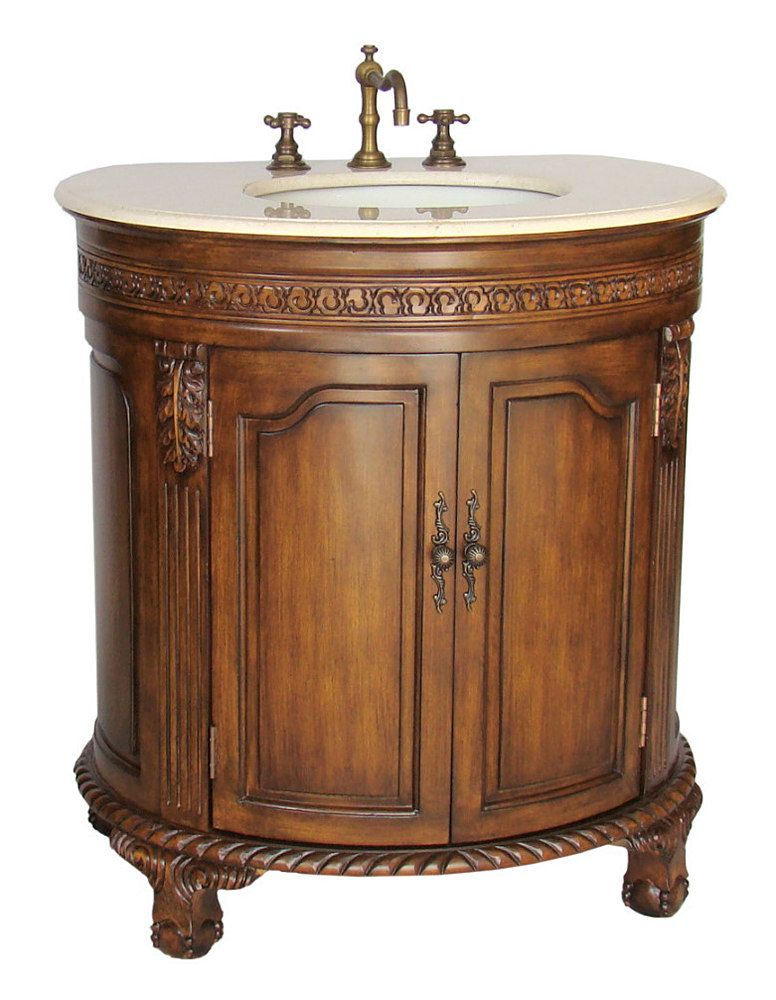 $775 Matte Antique Bathroom Vanity NLBA-2869M by New Legend