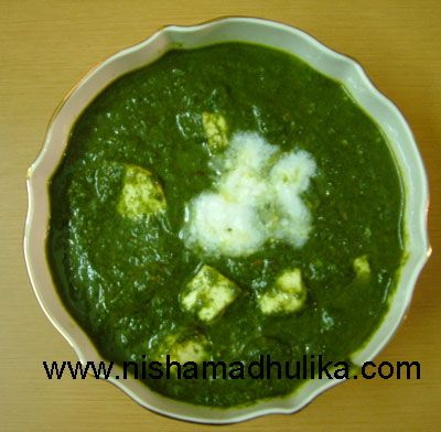Palak paneer recipe indian cuisine pinterest paneer recipes palak paneer recipe forumfinder Gallery
