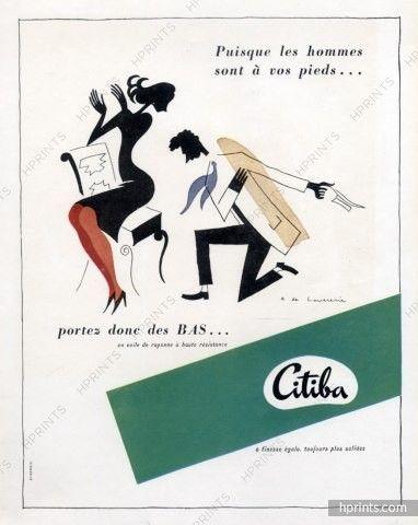Citiba (Stockings) 1947 Raymond De Lavererie