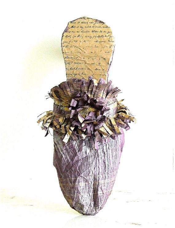 Paper Mâché Handmade Fairy Slipper