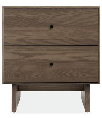 Best Hudson Nightstands With Wood Base Modern Nightstands 640 x 480