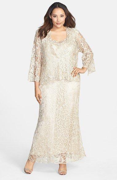1920s Plus Size Dresses Wedding Mother Of The Bride Soulmates 3 Piece Silk Crochet Skirt Set 498 00