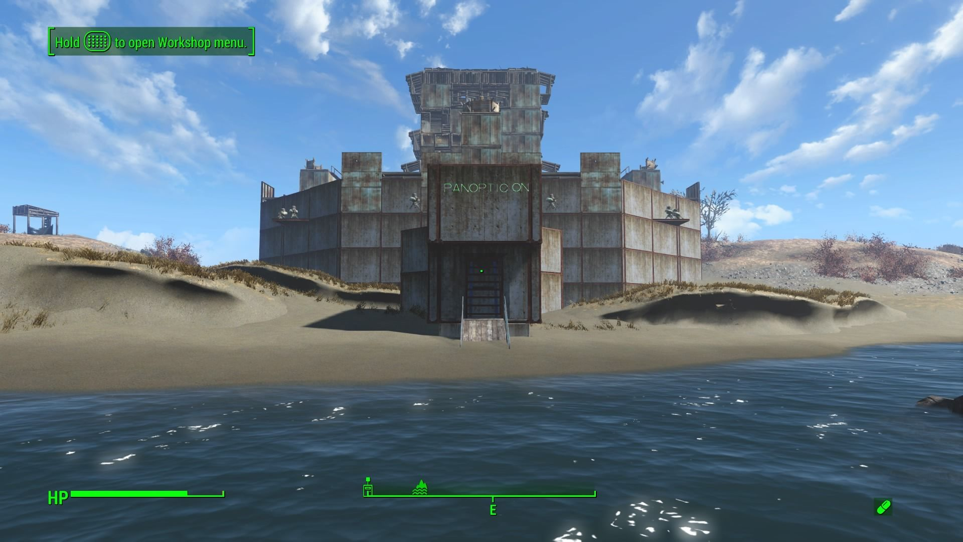 Spectacle Island Fallout  Fortress