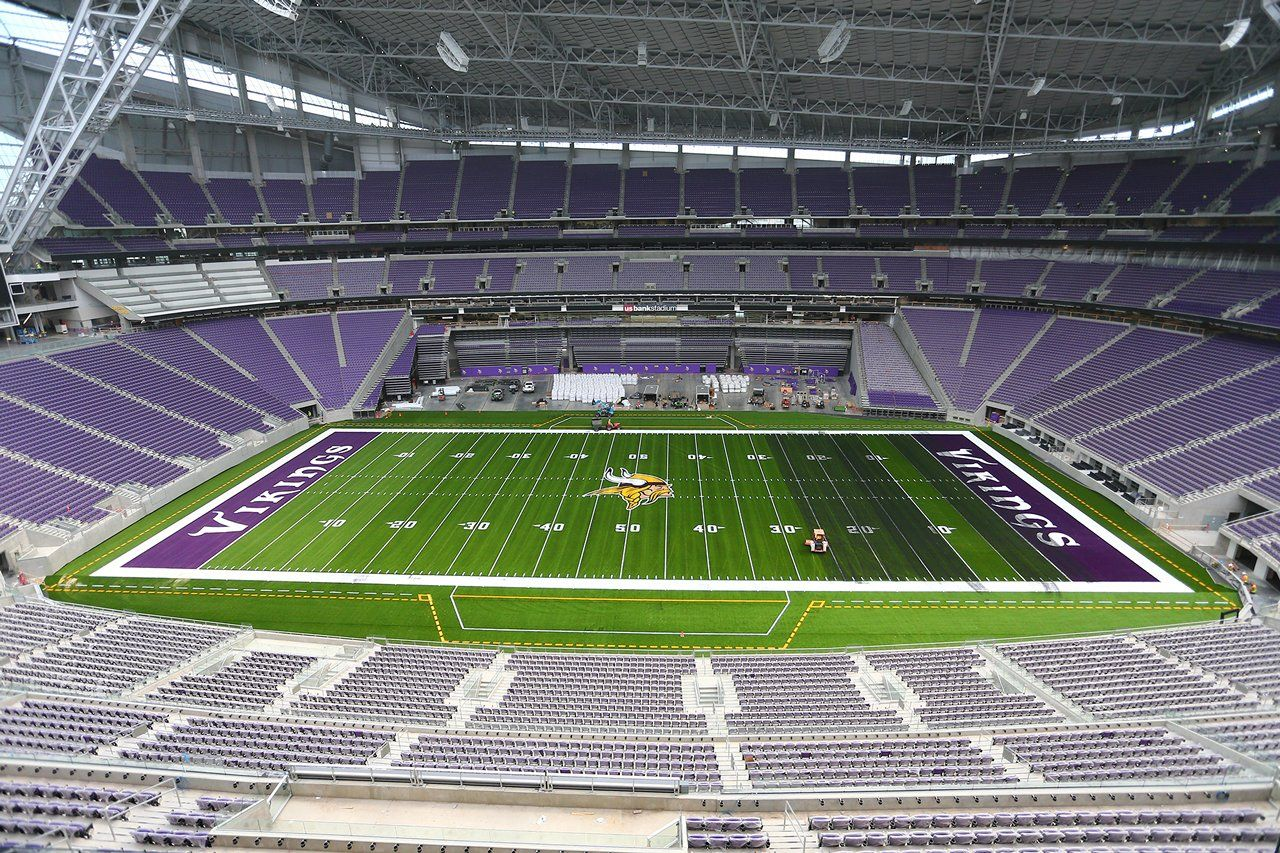 Pin By Francisco Jarero Pena On Nfl Palaces In 2020 Minnesota Vikings Football Stadium Stadium Architecture