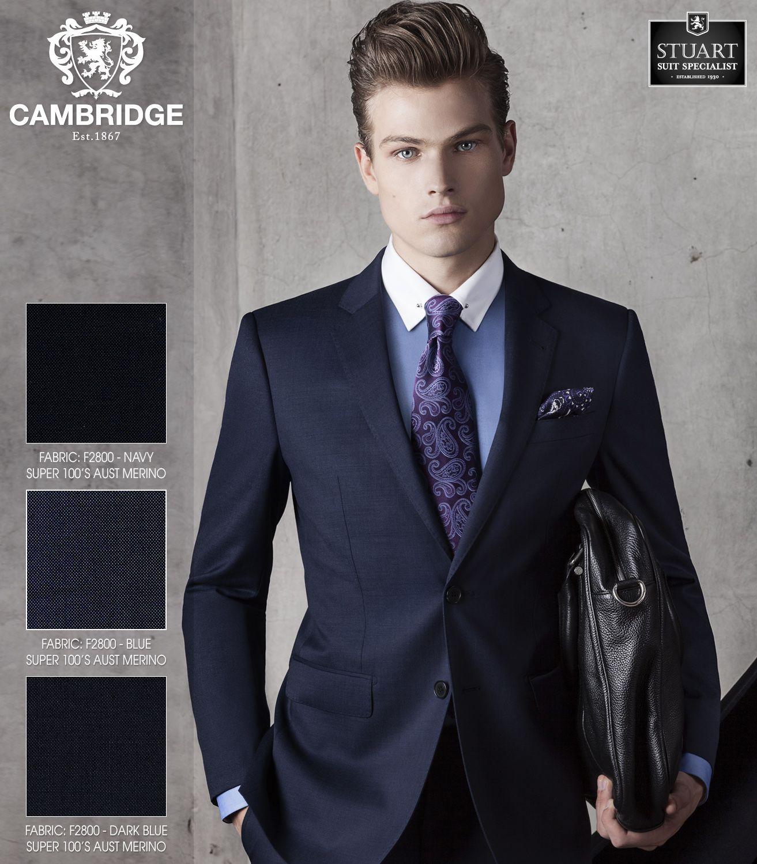 Cambridge Range Interceptor Pindot Suit Separates | Stuart Suit ...
