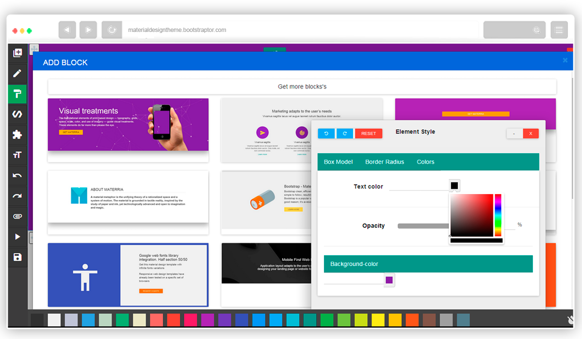 Website Templates BootScroller responsive bootstrap one page on ...