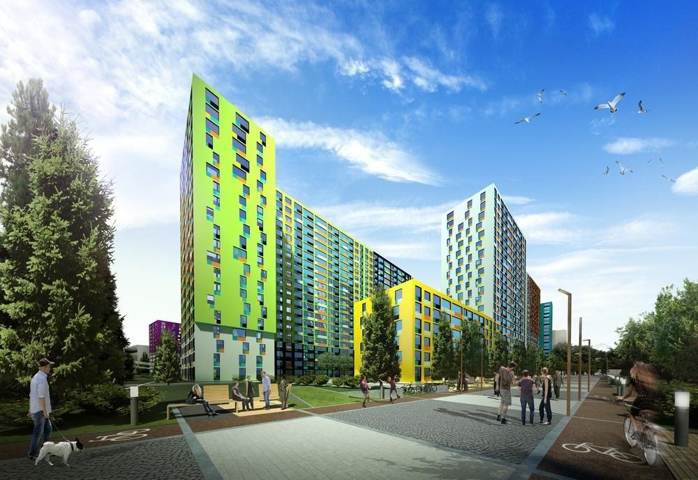 Residential complex spb russia architectural bureau a len