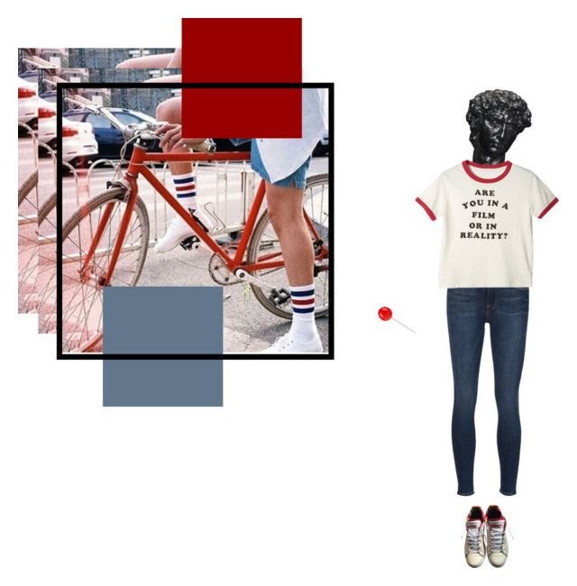 """lost in the films"" by glass-tears on Polyvore featuring Frame Denim and adidas"