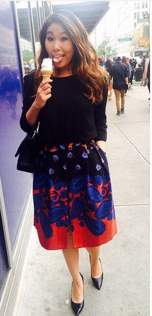 La Dolce Gia #Ootd #nycstreetstyle Chanel, Topshop, Nine West