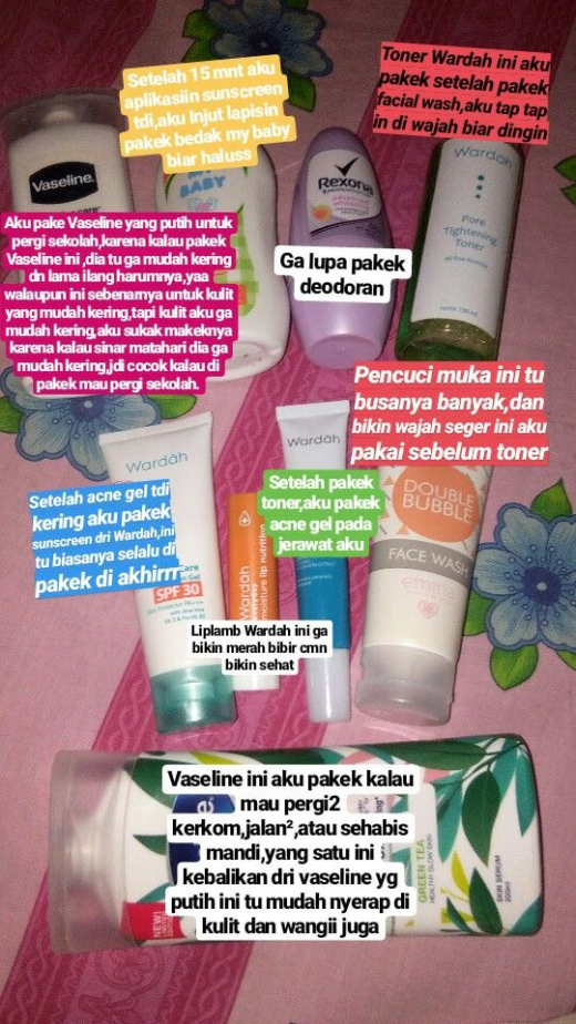 skincareroutine skin care routine indonesia di 2020