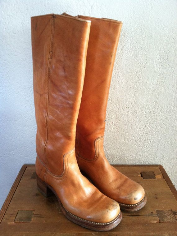Vintage Frye Campus Boot Size 7 1/28 by MiddleBirdVintage on Etsy, $175.00