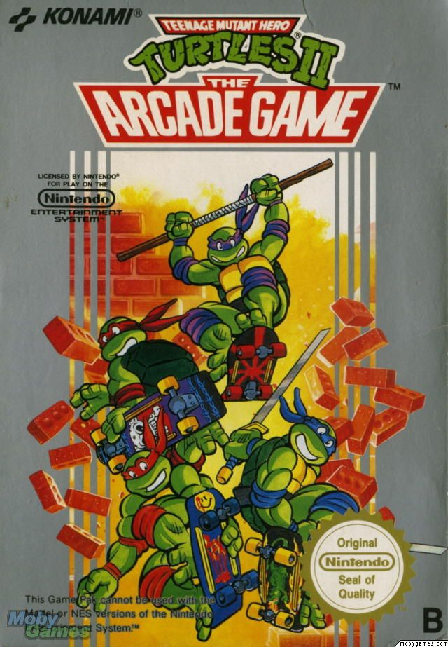 Turtles II - The Arcade Game (NES) | Nintendo | Arcade games