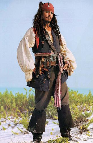 - eres el peor pirata del que he oído hablar... - ah, pero habeis oido hablar de mi, eh???