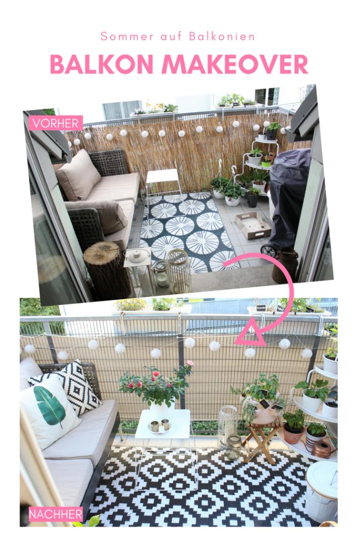sommer auf balkonien mein balkon makeover. Black Bedroom Furniture Sets. Home Design Ideas