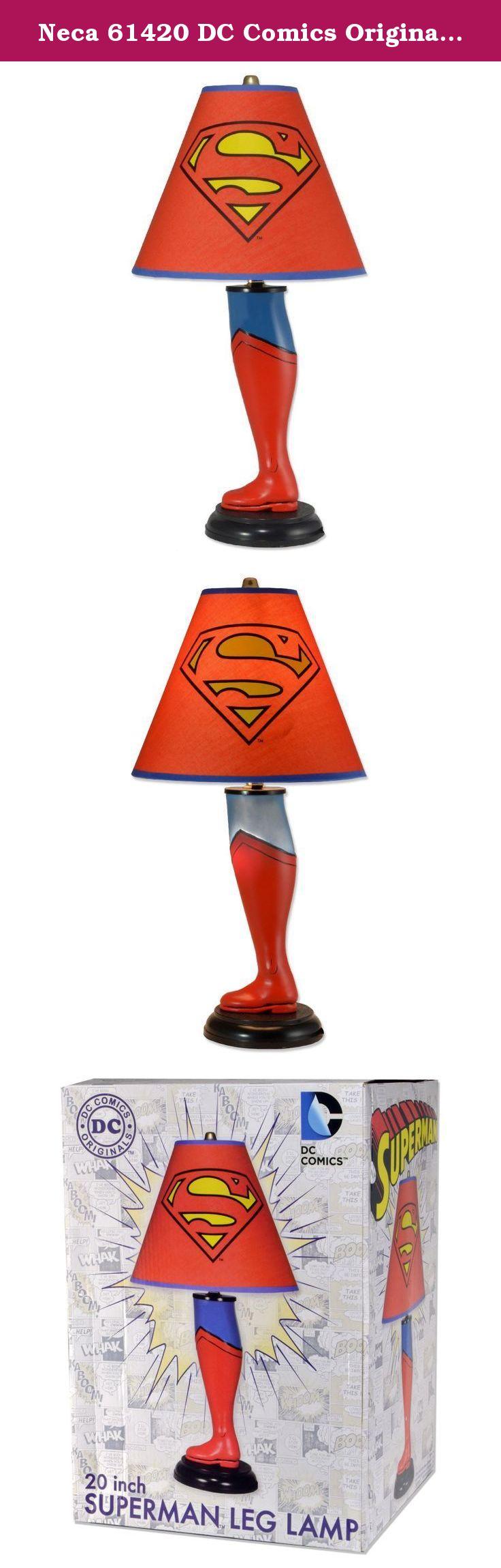 Neca 61420 DC Comics Originals 20Inch Superman Leg Lamp
