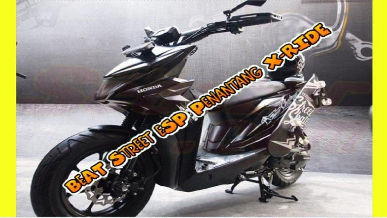Masak Sih Honda BeAT Street ESP Penantang Yamaha X Ride Itu Jelek