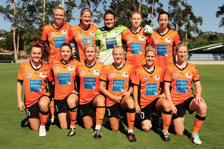 Brisbane Roar W-League Team Photo | Team photos, Brisbane ...