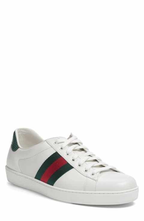 Gucci New Ace Sneaker Men Sneakers Men Sneakers Men Fashion Designer Sneakers
