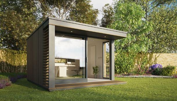Mini pod es una genial idea de casa prefabricada para - Casetas prefabricadas jardin ...