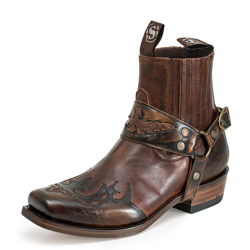 Botas de avestruz color gris ropa bolsas y calzado en mercadolibre - Bot N Sendra De Estilo Cowboy Combinada En Dos Tonos De Marr N Destacan El Dibujo De La Pala Y El Arn S Que En Este Caso Es Extra Ble