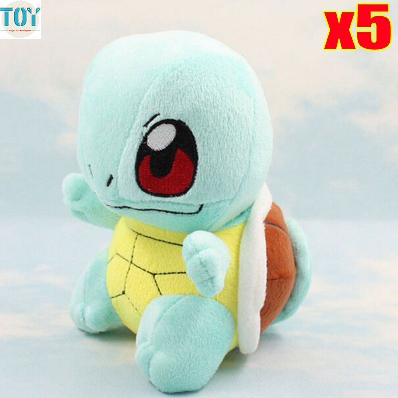 Find More Movies Tv Information About New 5pcs Squirtle
