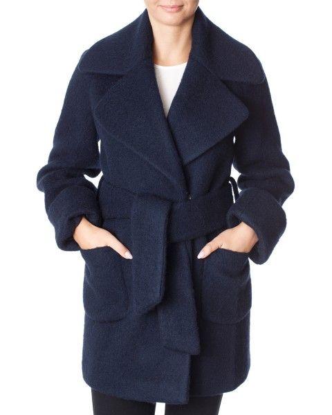 Modström Octavia coat – Jakke – Mørkeblå