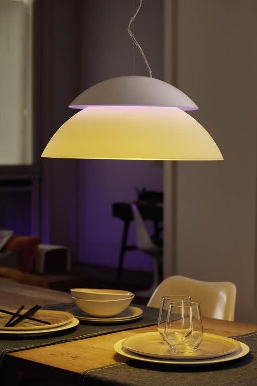 Philips Hue Beyond White And Color Ambiance Pendant Light Dimmer Excl White Lampen