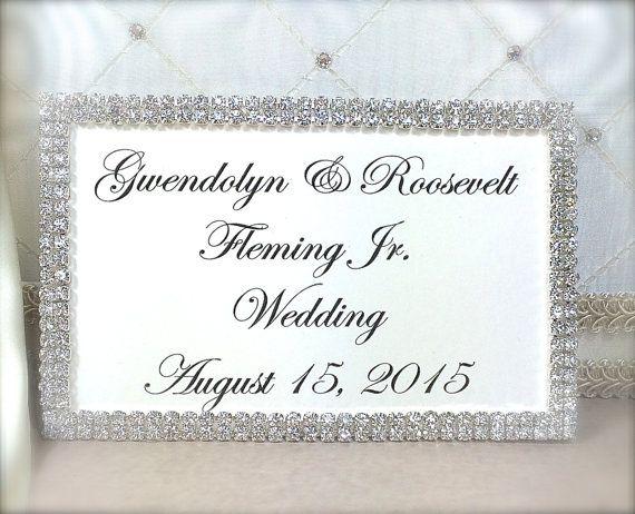 NEWLYWEDS II Wedding Invitation Keepsake Box with Engraved Name Plate