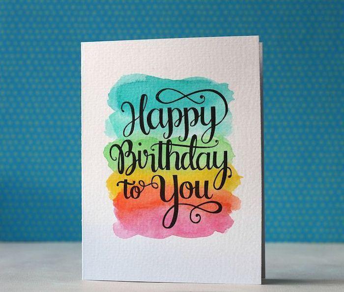 1001 Ideen Wie Sie Eine Geburtstagskarte Basteln Craft Ideas