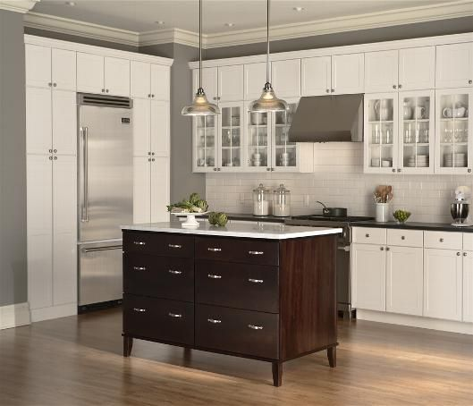 espresso kitchen cabinets | Mid Continent Signature Series Pictures ...