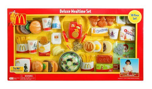 fisher price play food set 33 pieces