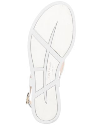 Cole Haan Rona Grand Thong Sandals - Ivory/Cream 6.5M