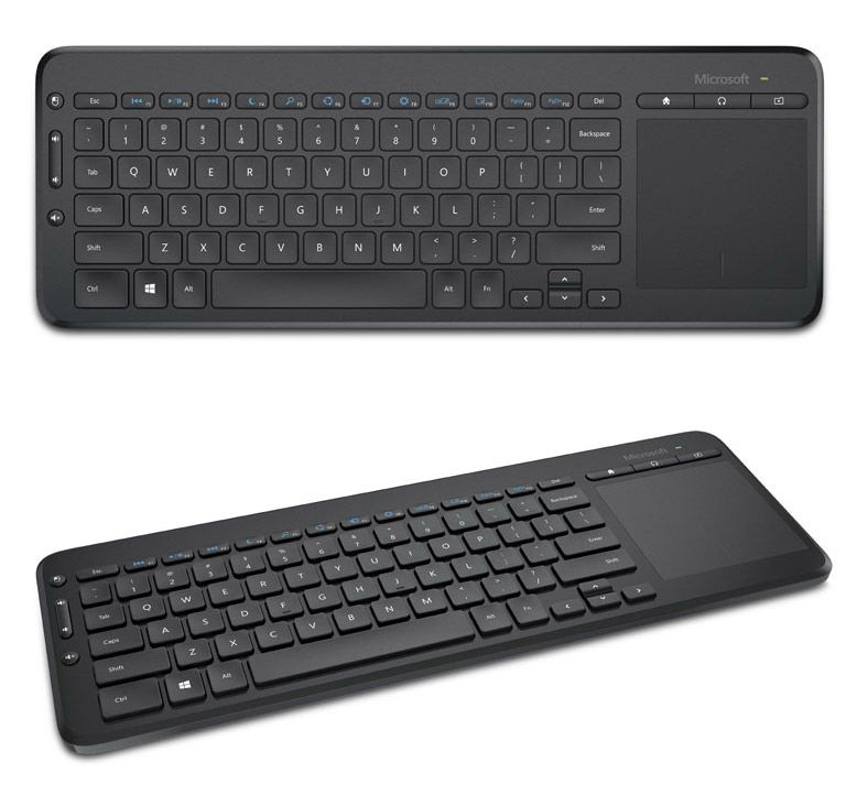 Microsoft All In One Media Keyboard Keyboard Pc Cases All In One