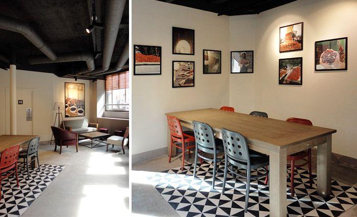 tapis carreau ciment niou pinterest carrelage de ciment ciment et le carreau. Black Bedroom Furniture Sets. Home Design Ideas