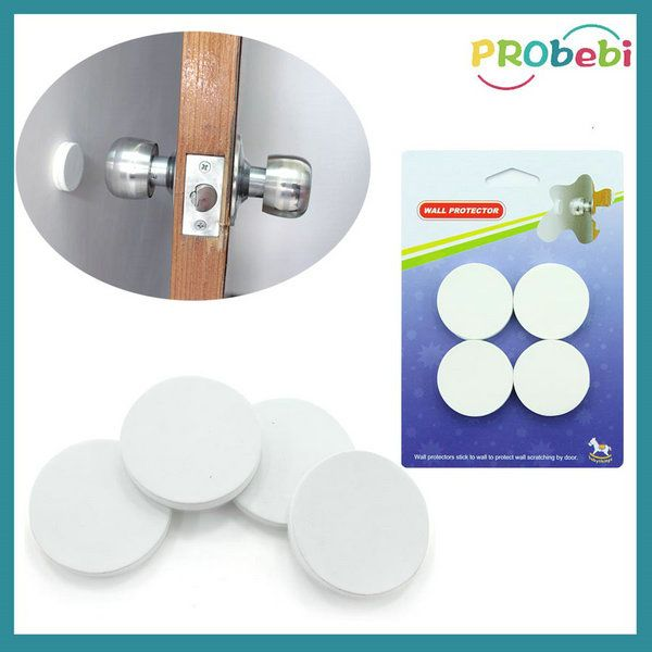 Exceptional Wall Mounted Door Protector | Door Bumper | #BabySafety | Adhesive Door  Stopper | Wall