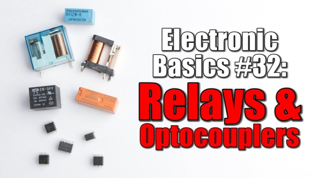 Working Of Relays And Optocouplers