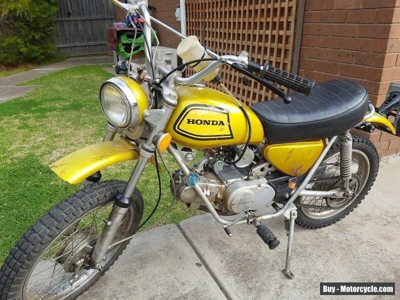 Honda Sl 70 K1 Classic Vintage Motorcycle Honda Sl70k1 Forsale Australia Motorcycle Vintage Motorcycle Honda