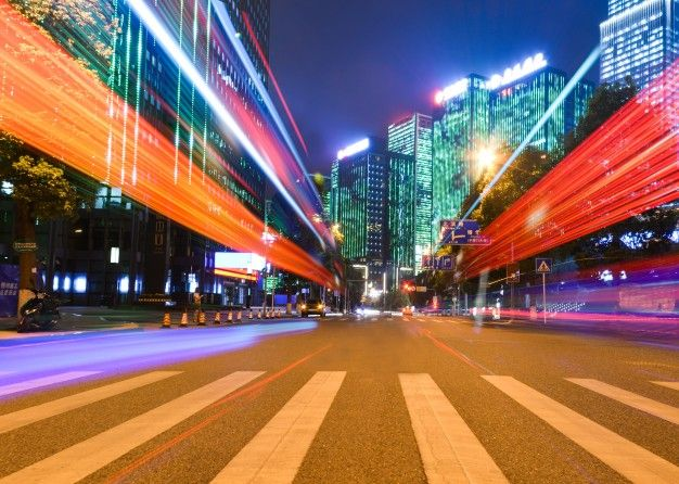 Motion Speed Effect With City Night Free Photo Freepik Freephoto Background Abstract Background Car Abstract Waves Background Photo Abstract Waves