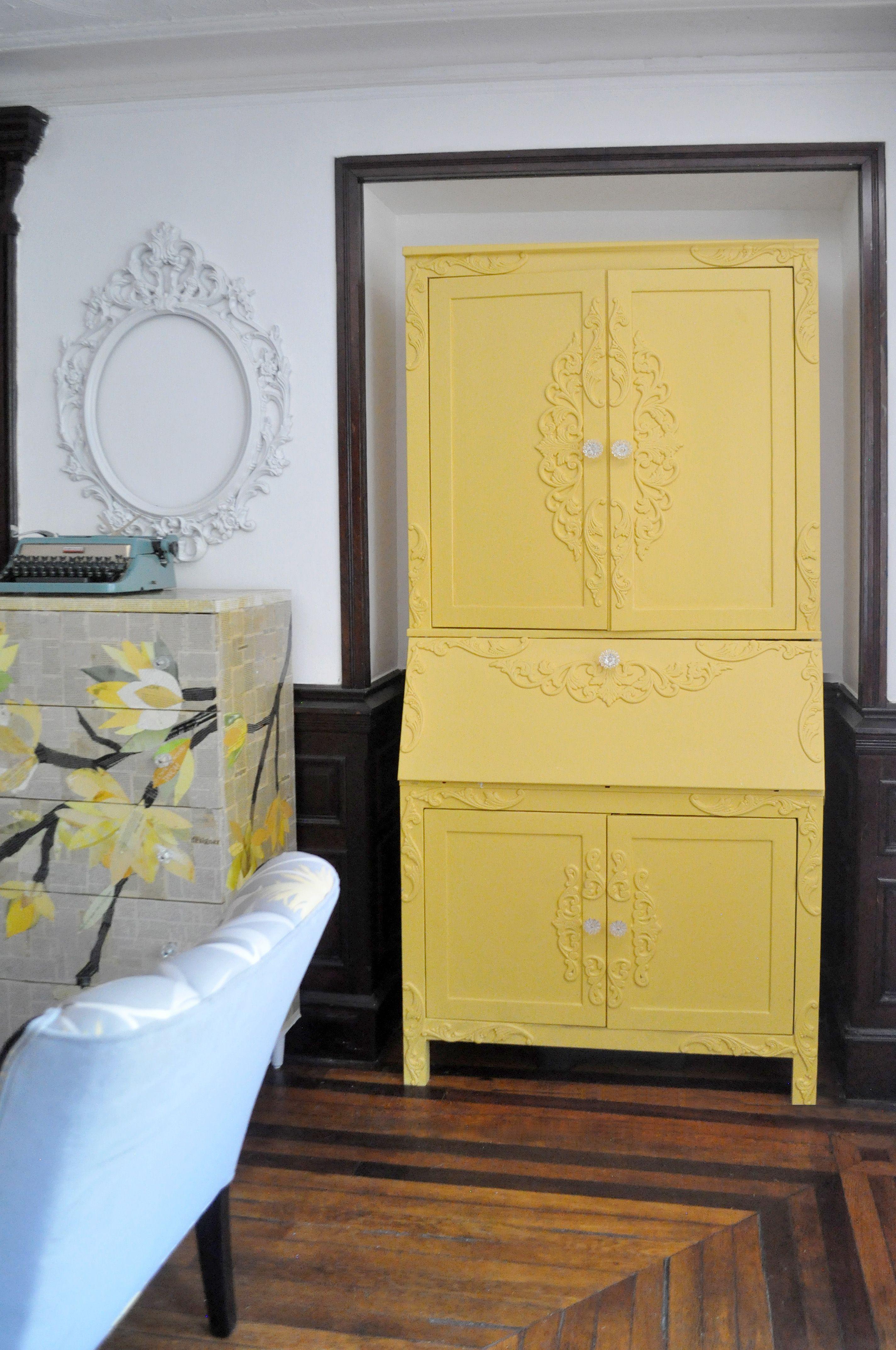 House Tour: Sofiau0027s DIY Garden Apartment In Brooklyn. Painted FurnitureDiy FurnitureFurniture  RepairPainted ...