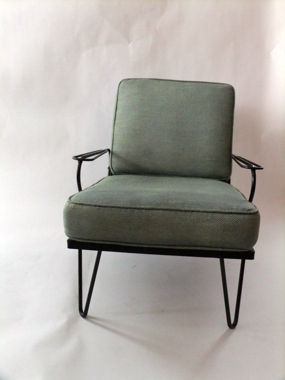 Vintage Mid Century Modern Hairpin Leg Chair By RetroVintageous, $279.00