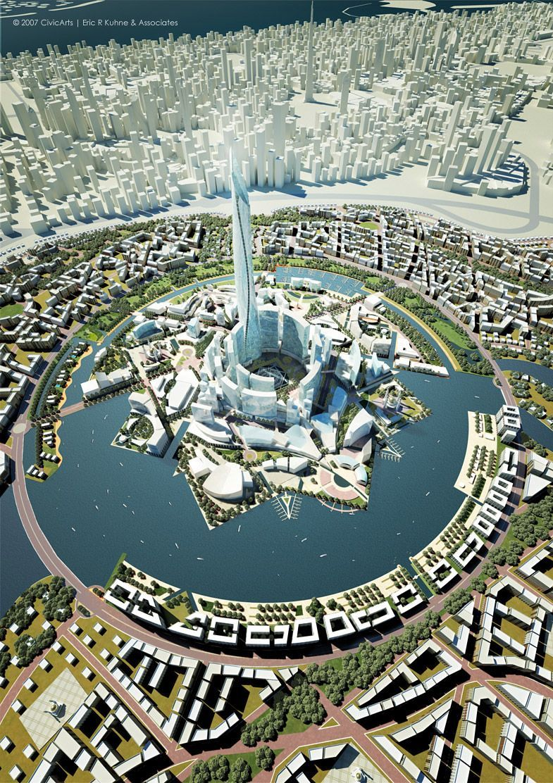 DUBAI   Mohammed Bin Rashed Gardens   NEVER BUILT  SkyscraperPage