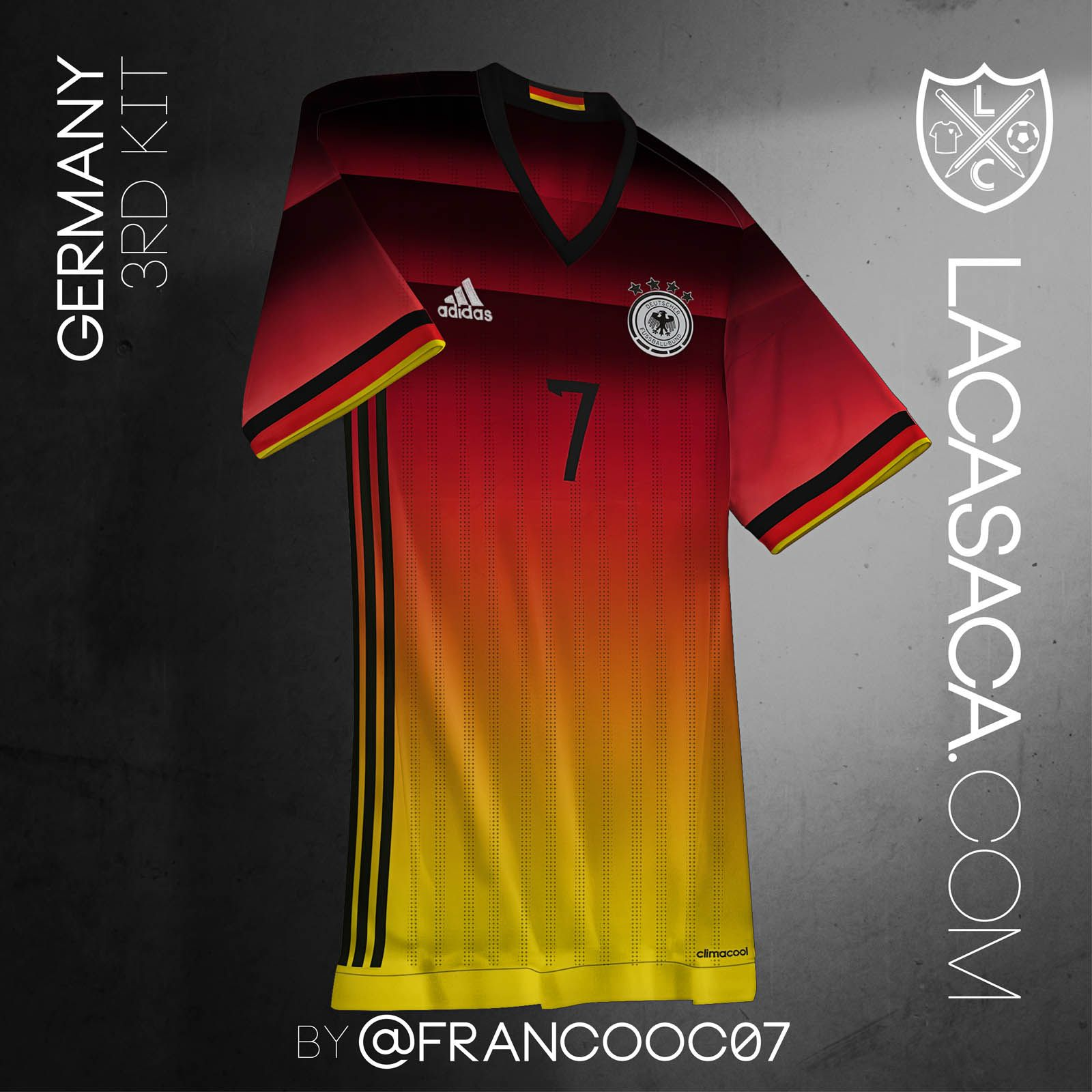 a93a22af Adidas National Team Concept Third Kits by Franco C   #Germany   The ...
